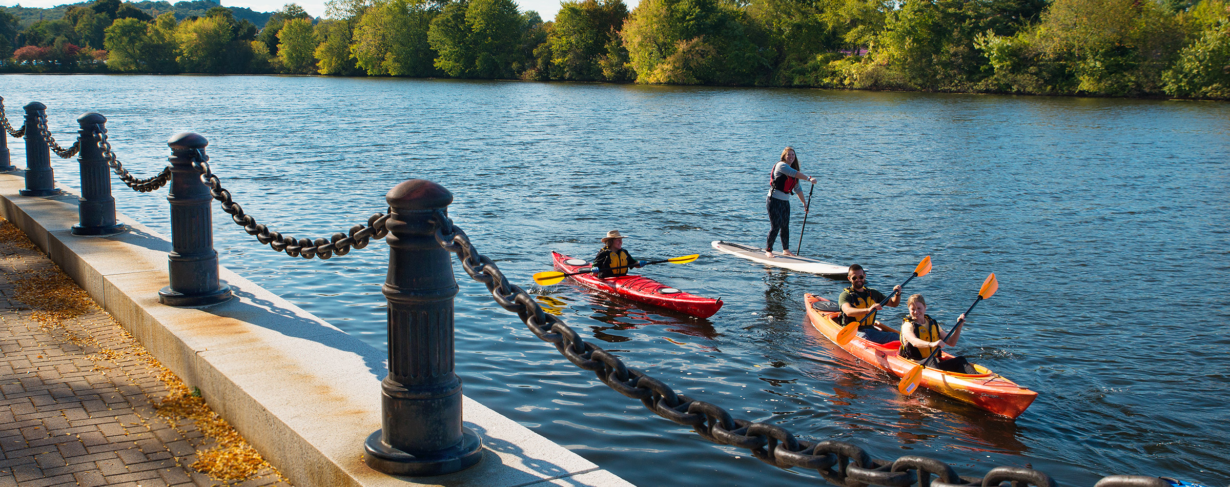 Come paddle the Charles River with Paddle Boston! The best place to kayak, canoe, or paddle board in Boston!