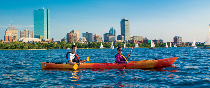 Cambridge at Kendall Square Paddle Boston Rentals