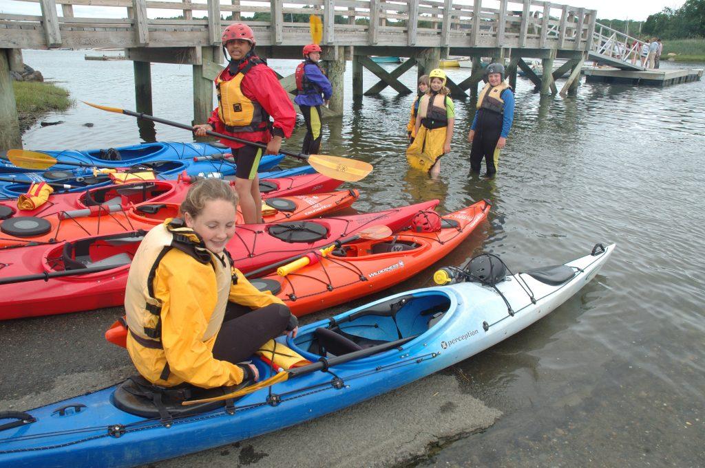 Kids Kayaking
