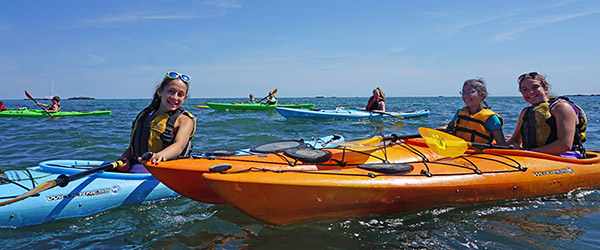 Kids' Sea Kayaking & SUP Program