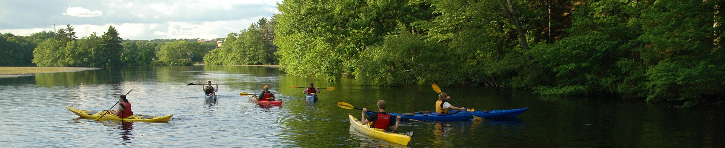 How to Choose a Kayak > Paddle Boston