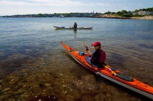 Paddle Boston sea kayak class Thatcher's Island